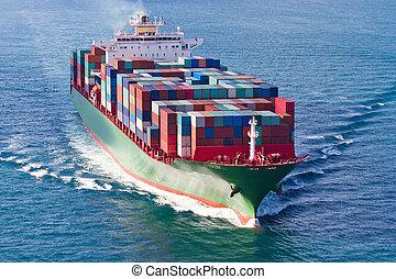 船の 容器