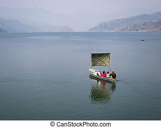 船工, 湖