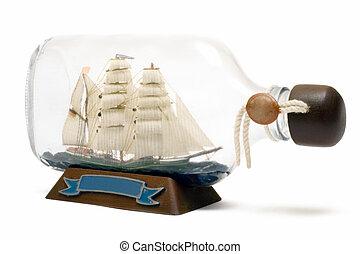 船, びん