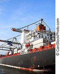 船, 工業, 拋錨