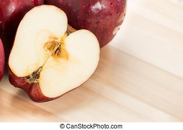 良い健康, アップル, 赤