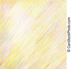 色の鉛筆, 抽象的, ドロー, 背景
