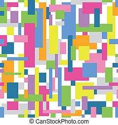 色彩丰富, 摘要, 模式