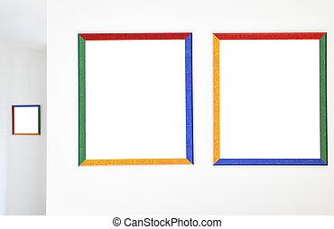 色彩丰富, 框架