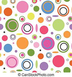 色彩丰富, 环绕, 模式