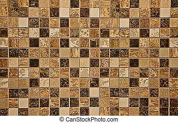 色彩丰富, 陶瓷, 墙壁瓷砖, 装饰