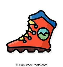 色, いたずら書き, スケート, ローラー