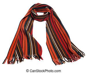 色, しまのある, スカーフ