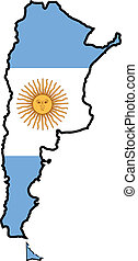 色, の, アルゼンチン