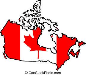 色, の, カナダ