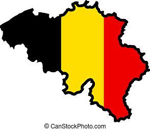 色, の, ベルギー