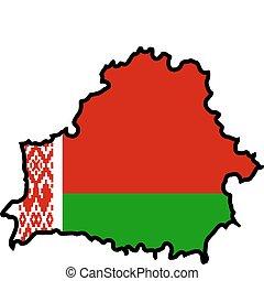 色, の, belarus
