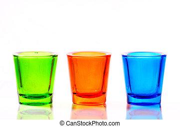 色, ガラス