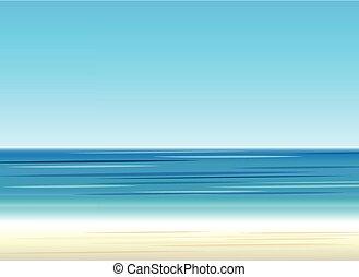 色, バックグラウンド。, 浜, sea.