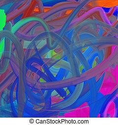色, ペンキ, 芸術, 背景