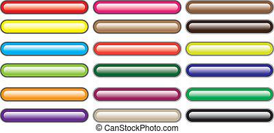 色, ボタン
