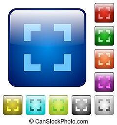 色, ボタン, 道具, 広場, セレクター