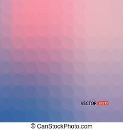 色, モザイク, 背景