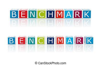 色, レポート, トピック, benchmark., blocks.