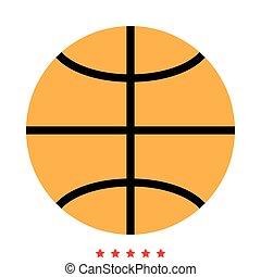色, 別, バスケットボールボール, アイコン