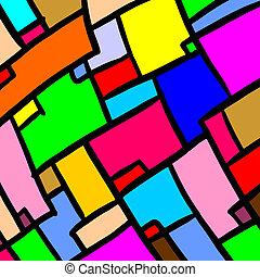 色, 壁紙, 芸術