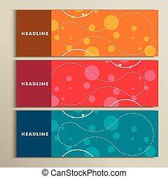 色, 抽象的, デザインを設定しなさい, ラウンド