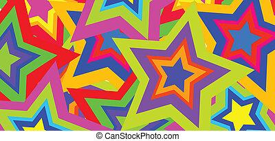 色, 抽象的, ベクトル, 背景