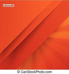 色, 抽象的, ベクトル, 背景, lines.