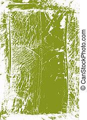 色, 抽象的, 緑の白