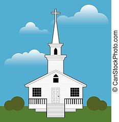 色, 教会