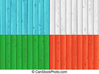 色, 木, セット, 手ざわり, 背景