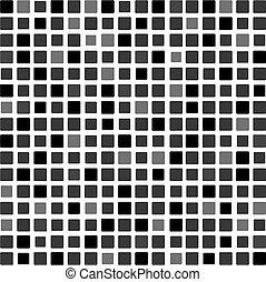色, 灰色, トン, モザイク, 背景