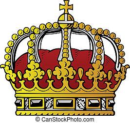 色, 王冠