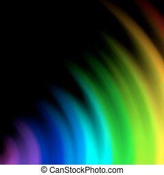 色, 虹, 抽象的, 背景