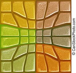 色, 装飾用である, ガラス