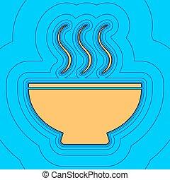 色, -, 輪郭, 青, フィールド, 空, バックグラウンド。, 黒, 輪郭, vector., 地図, 印。, equidistant, sea., 波, アイコン, のように, 島, 海洋, スープ, 砂, ∥あるいは∥