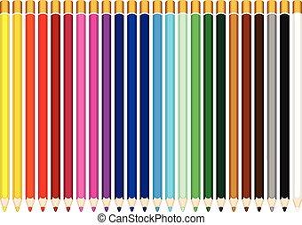 色, 鉛筆