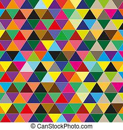 色, backgro, 三角形, イラスト
