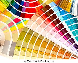 色, choose?, 何か