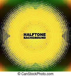 色, halftone, 円, 抽象的
