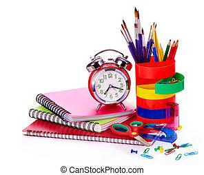 艺术, 学校, supplies.