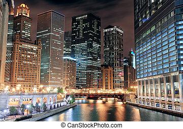 芝加哥河, 步行