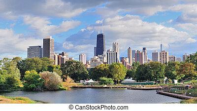 芝加哥, 地平线