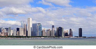 芝加哥, 地平线, 结束, 湖密歇根