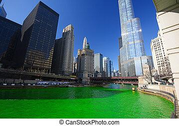 芝加哥, 格林河