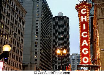 芝加哥, 簽署