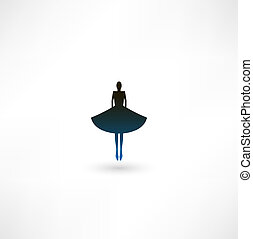 芭蕾舞女演员, 符号