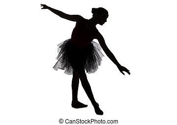 芭蕾舞女演員, 圖像, 跳舞