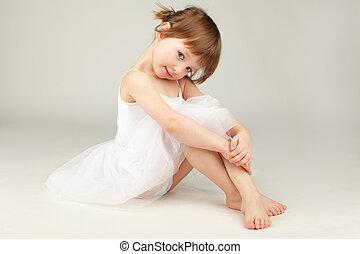 芭蕾舞女演員, 很少