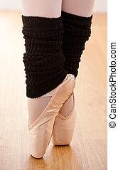 芭蕾舞女演員, 特寫鏡頭, 有才能